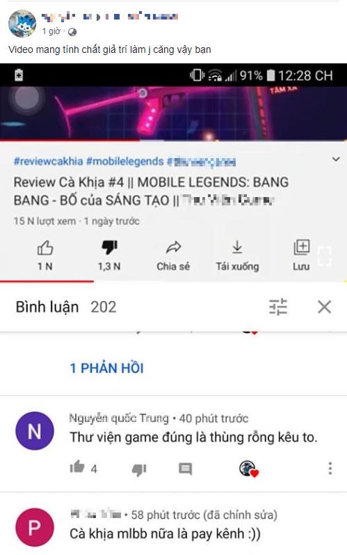 """Youtuber xúc phạm game thủ Mobile Legends là """"lũ thiếu DHA"""" lên tiếng xin lỗi, tuyên bố không sợ và tạo scandal rất có lợi - Ảnh 1."""