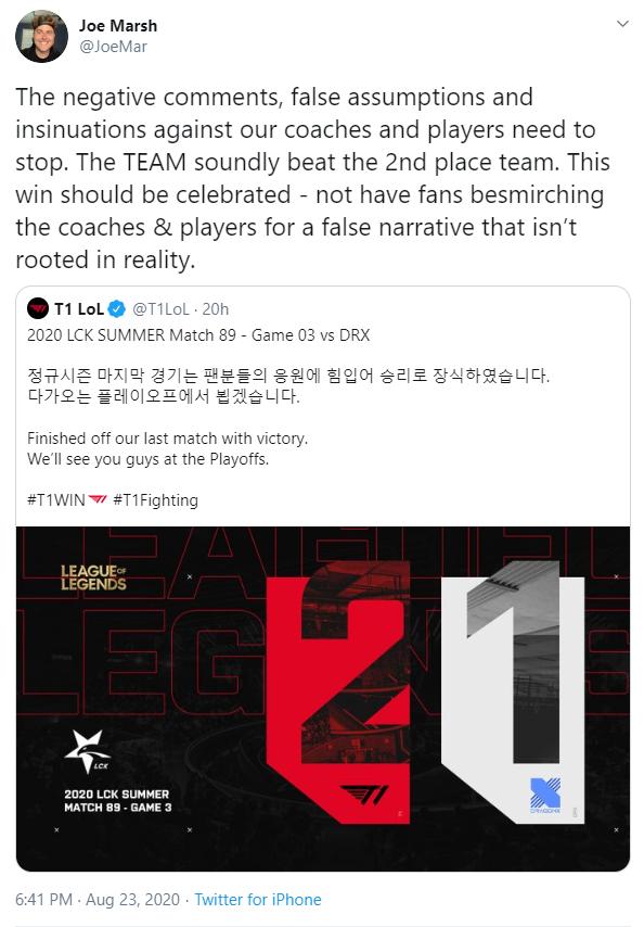 Cộng đồng Hàn Quốc phẫn nộ vì cách T1 đối xử với Faker: T1 coi Faker như con bò chỉ để vắt ra tiền vậy - Ảnh 5.