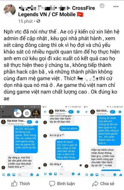 Chê bai VNG đóng cửa game vì hack quá nhiều, người chơi gửi tin nhắn cầu cứu VTC để phát hành lại - Ảnh 3.