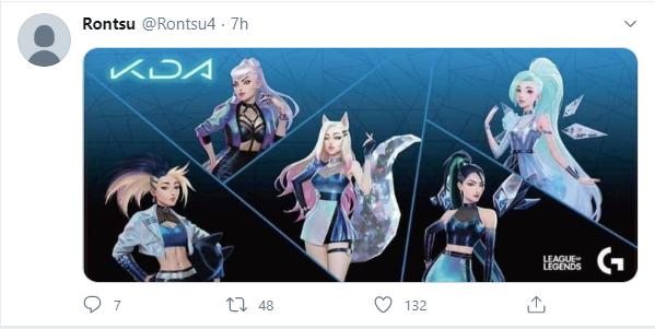 Dòng skin K/DA 2020 bất ngờ bị lộ toàn bộ tạo hình, tướng mới Seraphine sẽ là thành viên thứ 5? - Ảnh 1.