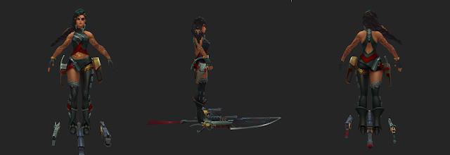 Lộ diện bộ kỹ năng của tướng mới Samira: Xạ thủ có lối chơi khô máu nhất LMHT, Yasuo phiên bản nữ - Ảnh 3.