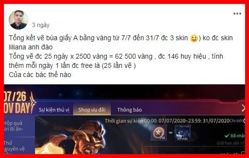 Liên Quân Mobile: Bằng chứng cho thấy Garena bị hớ nặng khi để game thủ dùng vàng mua skin - Ảnh 6.