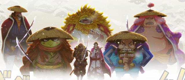One Piece 987: Biến cố lớn khiến biên tập viên bật khóc, phải chăng là việc Kaido lấy mạng Cửu Hồng Bao? - Ảnh 4.