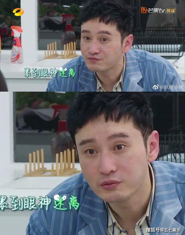 Huỳnh Hiểu Minh lần đầu lộ mặt thật khi không trang điểm khiến khán giả sốc - Ảnh 2.