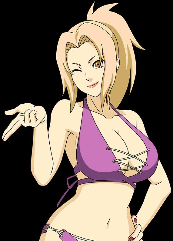 Không được đi tắm biển thì ngồi nhà ngắm dàn mỹ nhân trong Naruto diện bikini cũng đủ sướng con mắt - Ảnh 12.