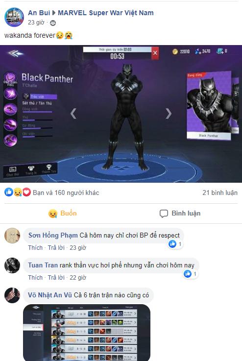 Người chơi tái hiện đại chiến Civil War trong game, tất cả lại càng xót thương cho Black Panther Chadwick Boseman - Ảnh 3.
