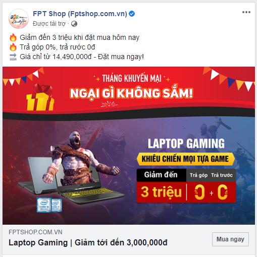 Cộng đồng game thủ thi nhau ném đá quảng cáo lố bịch: God of War trên Laptop Gaming - Ảnh 2.
