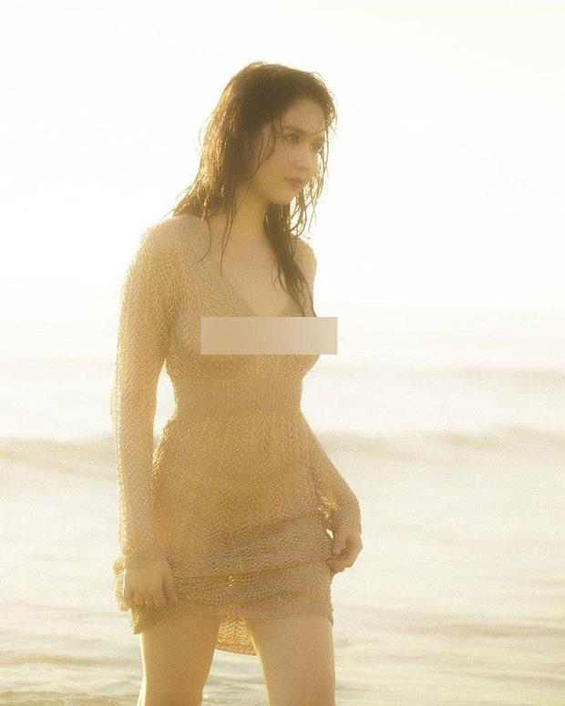 Ngọc Trinh tung bộ ảnh gợi cảm, diện áo lưới ướt sũng khiến dân mạng đua nhau thả tim nhiệt liệt - Ảnh 6.