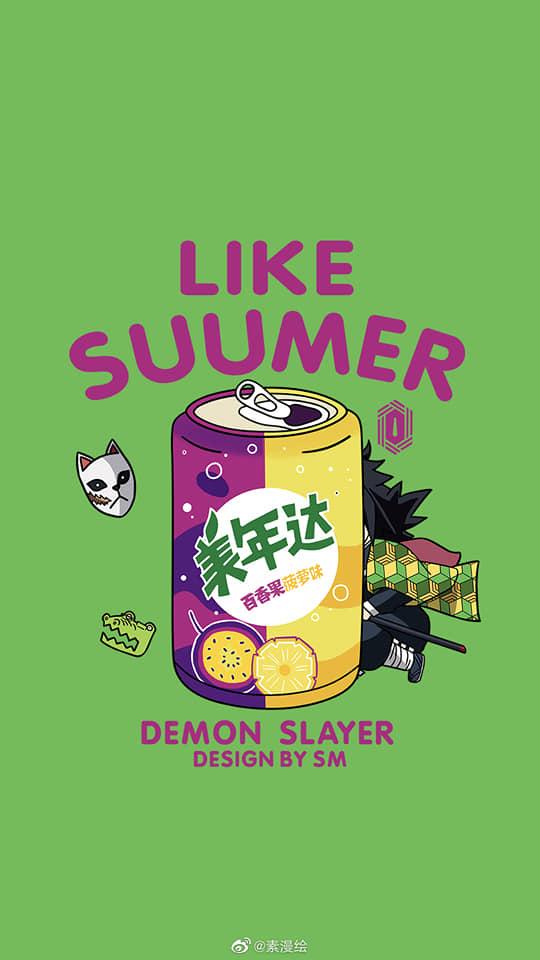Khi dàn nhân vật Kimetsu no Yaiba trở thành cảm hứng cho thức uống ngày hè, bạn sẽ gọi món nào? - Ảnh 3.