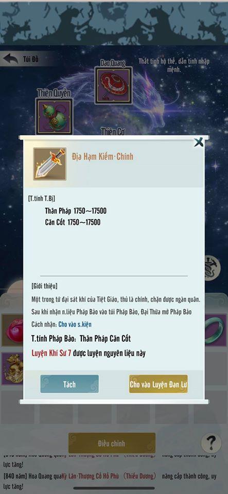 Đem đến nhiều chỉ số đặc biệt, Mộng Ảo Tu Tiên cho phép người chơi thỏa sức biến hóa nhân vật theo cách riêng nhất - Ảnh 4.