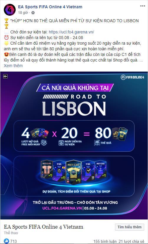 FIFA Online 4 khuấy đảo không khí Champions League bằng siêu sự kiện miễn phí suốt tháng 8 - Ảnh 3.