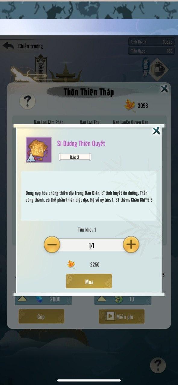 Đem đến nhiều chỉ số đặc biệt, Mộng Ảo Tu Tiên cho phép người chơi thỏa sức biến hóa nhân vật theo cách riêng nhất - Ảnh 3.