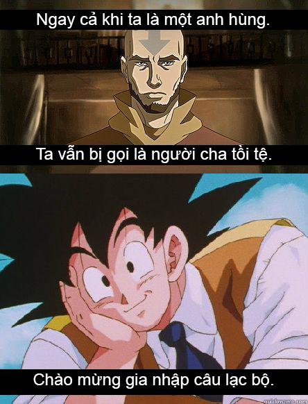 Xả stress ngày mưa với loạt ảnh hài khó đỡ minh chứng Goku không phải là người cha tốt - Ảnh 2.