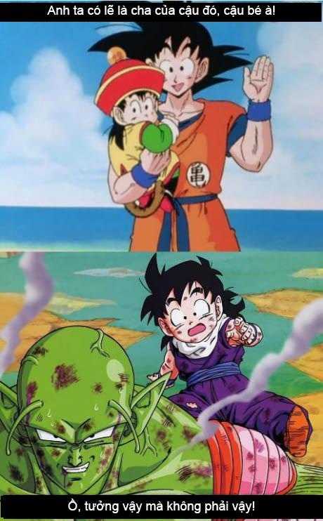 Xả stress ngày mưa với loạt ảnh hài khó đỡ minh chứng Goku không phải là người cha tốt - Ảnh 7.
