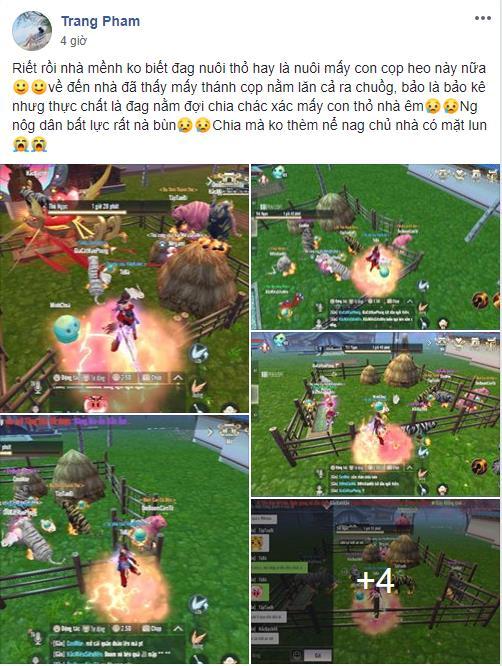 """Game thủ Perfect World VNG đua nhau trở thành """"nông dân"""", khoe ảnh giường chiếu trong phiên bản mới - Ảnh 4."""