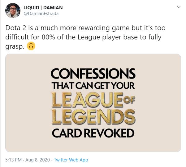 Giám đốc Team Liquid: DOTA2 là trò chơi quá khó, 80% game thủ LMHT không thể hiểu được - Ảnh 2.