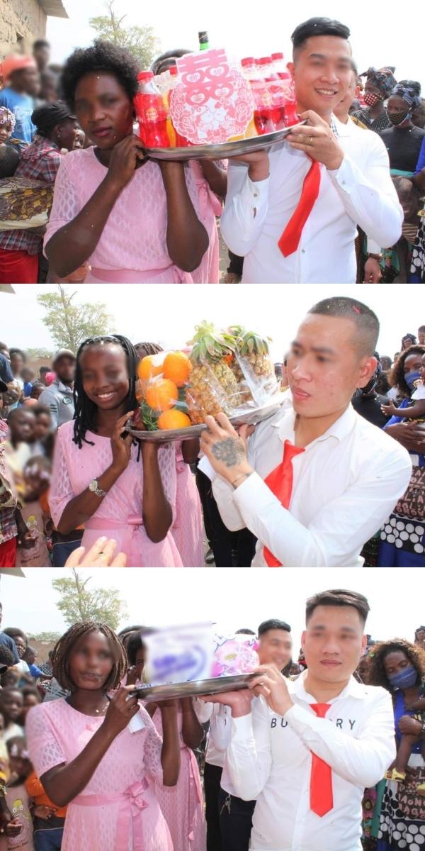Mang ghế tình yêu làm quà tặng đám cưới ở châu Phi, chàng Youtuber Việt khiến dân mạng cười không ngớt - Ảnh 4.