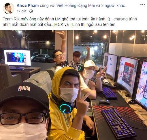 """Karik đi chơi LMHT cùng cả team Rap Việt, khoe luôn cả video """"múa"""" Yasuo cực kỳ mượt mà"""