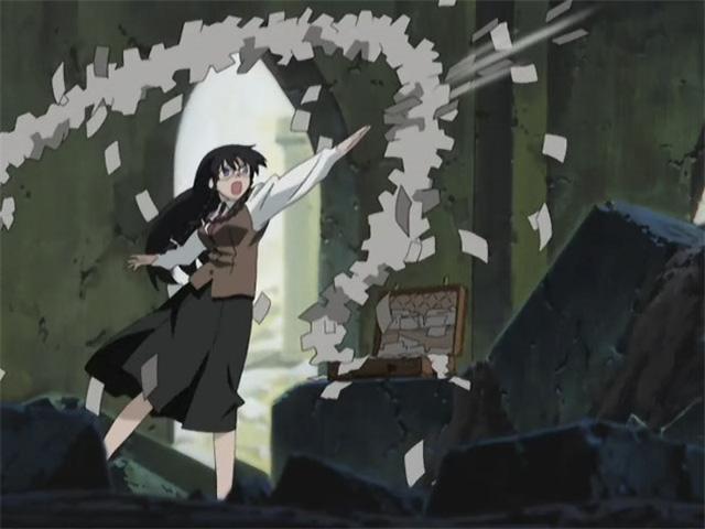 Loạt vũ khí lố bịch nhất từng xuất hiện trong anime: Khi ngực khủng cũng có sát thương cao! - Ảnh 7.