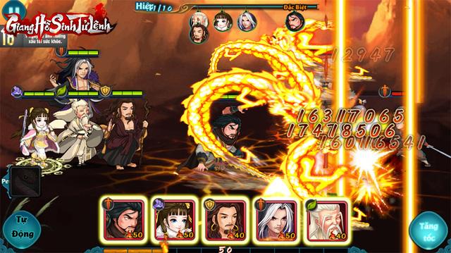 Top 1 game thẻ tướng Kim Dung, Giang Hồ Sinh Tử Lệnh phô diễn gameplay chiến thuật siêu hack não! - Ảnh 2.