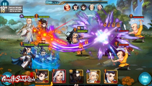 Top 1 game thẻ tướng Kim Dung, Giang Hồ Sinh Tử Lệnh phô diễn gameplay chiến thuật siêu hack não! - Ảnh 8.