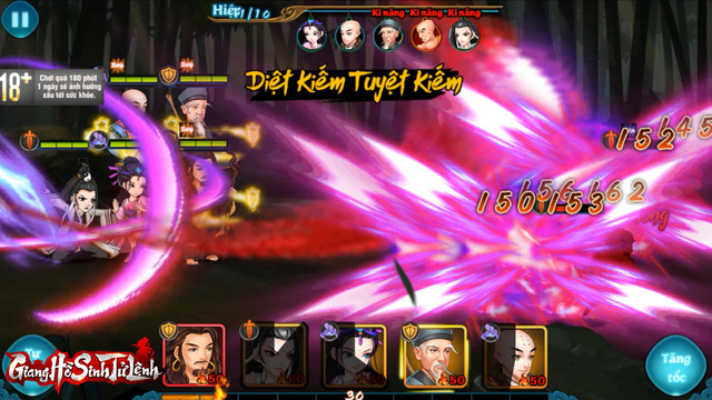 Top 1 game thẻ tướng Kim Dung, Giang Hồ Sinh Tử Lệnh phô diễn gameplay chiến thuật siêu hack não! - Ảnh 9.