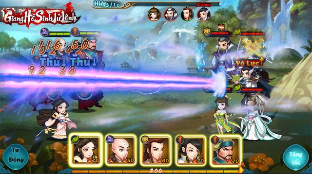 Top 1 game thẻ tướng Kim Dung, Giang Hồ Sinh Tử Lệnh phô diễn gameplay chiến thuật siêu hack não! - Ảnh 3.