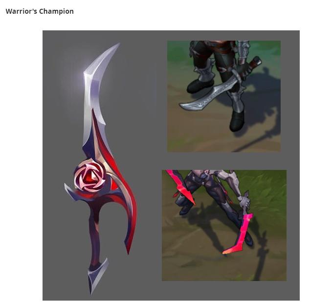 Săm soi 6 thanh kiếm bí ẩn của Riot, cộng đồng LMHT phát hiện ra nhóm trang phục Thần Hỏa sắp ra mắt - Ảnh 10.