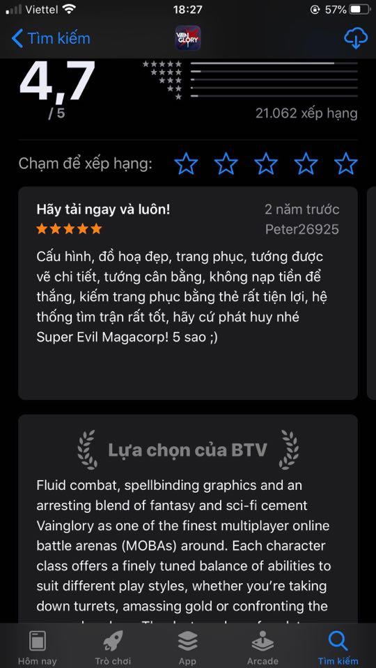 Người chơi thương tiếc game MOBA lọt đề cử Lựa chọn BTV của App Store nhưng yểu mệnh, sống hấp hối qua ngày - Ảnh 3.