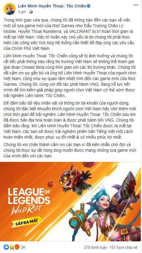 """Chính thức! 100% VNG sẽ phát hành LMHT: Tốc Chiến tại Việt Nam, game thủ Việt """"khóc hận"""" vì Closed Beta - Ảnh 3."""