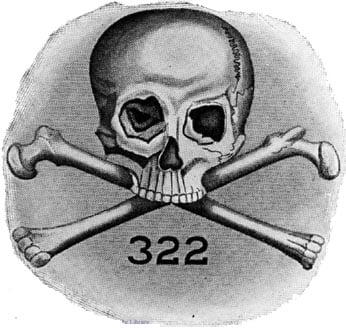 Lịch sử đầy quyền lực của hội kín Đầu lâu xương vắt chéo - Ảnh 1.