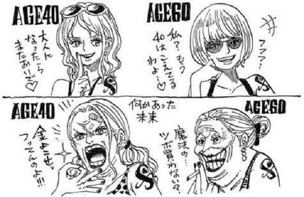 One Piece: Phiên bản về già của 7 nhân vật nhiều fan yêu thích do chính tay Oda vẽ - Ảnh 6.