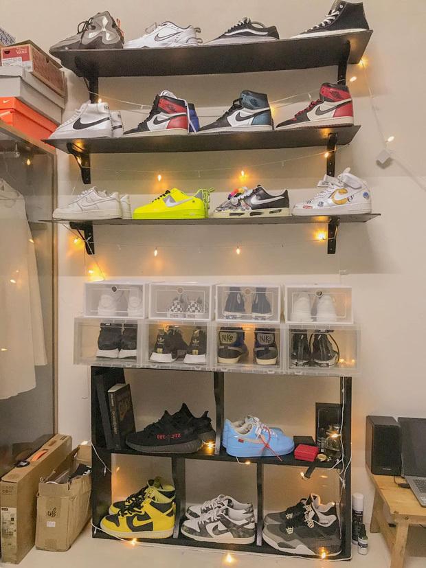 Làm bốc vác nhưng lại sở hữu tủ giày lên tới hàng chục triệu, nam thanh niên khiến cộng đồng mạng tranh luận không ngớt - Ảnh 2.