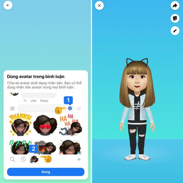 Facebook ra mắt tính năng tạo mặt mới cực độc, cư dân mạng ào ào khoe trào lưu avatar mới - Ảnh 5.