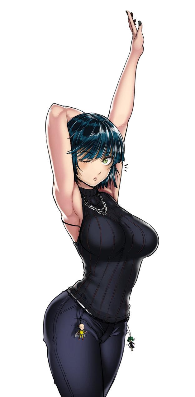 Chiêm ngưỡng những hình ảnh cực phẩm về vòng 1 của Fubuki - nàng siêu năng lực gia nóng bỏng nhất One Punch Man - Ảnh 13.
