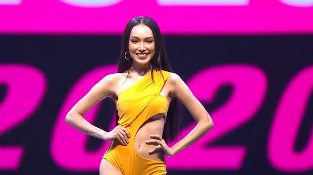 Vì áo tắm lởm của ban tổ chức, hàng loạt thí sinh Miss Grand Thailand 2020 lộ ngực trên sóng livestream - Ảnh 8.