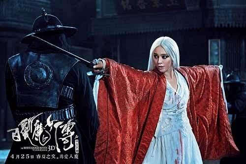 Loạt mỹ nhân Hoa ngữ đọ độ quyến rũ trong tạo hình tóc trắng - Ảnh 10.