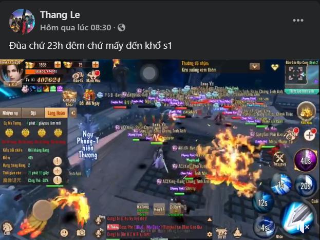 Cộng đồng TTSQ: Đã đam mê thì đừng hỏi thời gian, 23h đêm vẫn PK cháy máy - Ảnh 8.