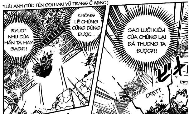 One Piece: Mối liên hệ giữa Ryuo cấp cao của các Cửu Hồng Bao và thanh Thu Thuỷ của Zoro - Ảnh 1.