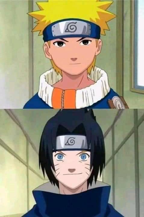 Hoảng hốt khi thấy các nhân vật trong Naruto đổi khuôn mặt cho nhau, dung mạo thật thảm họa - Ảnh 7.