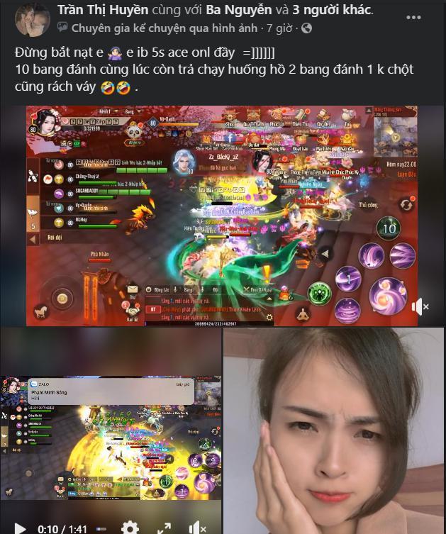 1 chấp 2, nữ game thủ tuyên bố căng đét: Đừng bắt nạt em, em inbox 5s là 500 chị em online đầy! - Ảnh 4.