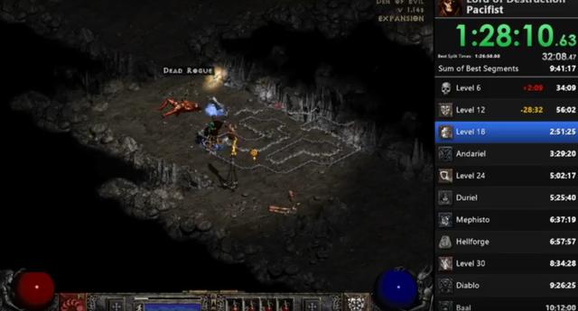 [Cũ mà hay] Phá đảo Diablo 2 mà không cần đánh một con quái nào - Ảnh 2.