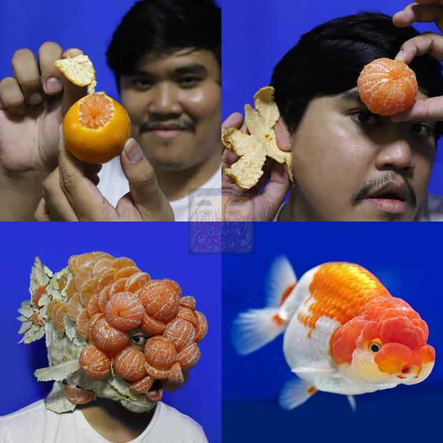 """Chỉ bằng vài nguyên liệu đồ ăn đơn giản, """"thánh cosplay"""" Thái Lan khiến cả thế giới chắp tay bái phục khi biến hình thành vạn vật trên đời - Ảnh 32."""