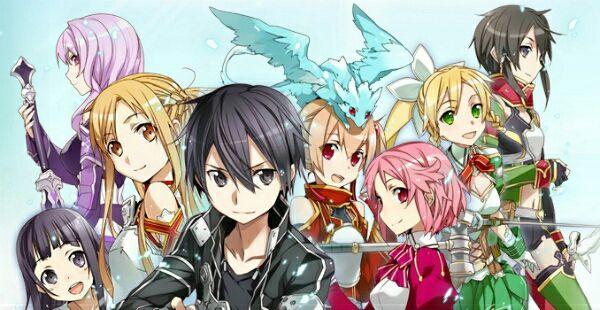 Dàn harem khủng của Kirito trong Sword Art Online