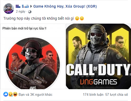 """""""Dead game"""" sơn súng kinh hơn cả Lửa Chùa bị tố đạo nhái Call of Duty Mobile để lấy lại sự nổi tiếng - Ảnh 1."""