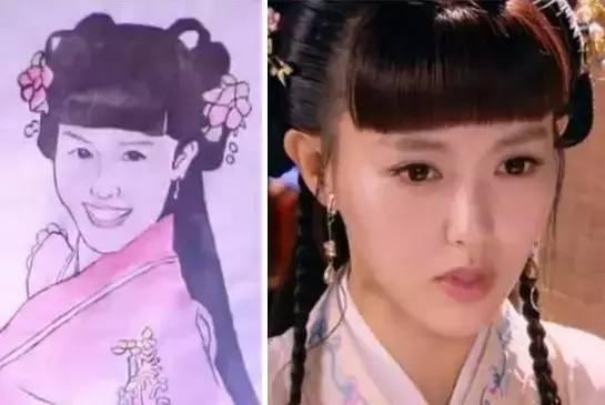 Cười ngoác mồm với tranh chân dung của mỹ nam mỹ nữ trong phim cổ trang Trung Quốc - Ảnh 8.