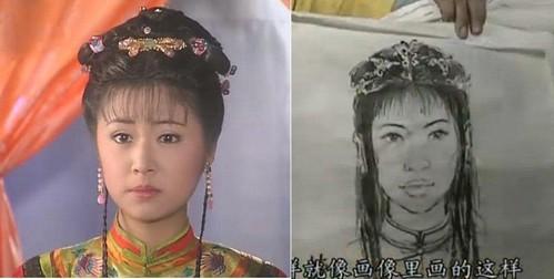 Cười ngoác mồm với tranh chân dung của mỹ nam mỹ nữ trong phim cổ trang Trung Quốc - Ảnh 10.
