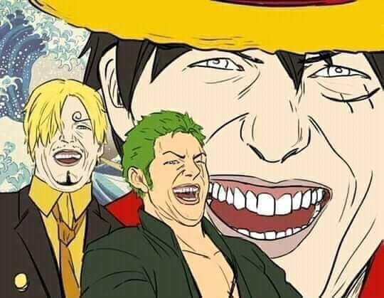 One Piece: Băng Mũ Rơm tập hợp đội hình, các fan hài hước đùa rằng Chụp ảnh thờ có nhất thiết phải ngầu thế không - Ảnh 4.