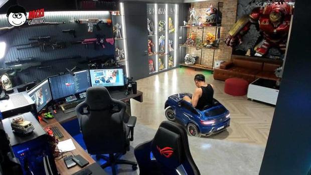 Độ Mixi được donate Đồ Long Đao trấn yểm trẻ trâu, cậu con trai Tùng Sói mới 3 tuổi đã sở hữu siêu xe cực xịn - Ảnh 5.