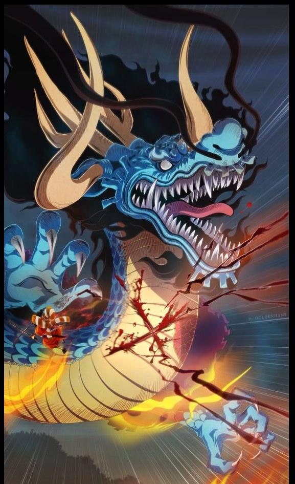 One Piece: Liệu sức mạnh của Kaido có bị Morgans thêu dệt giống như cách hắn ca tụng Luffy là Ngũ Hoàng? - Ảnh 4.